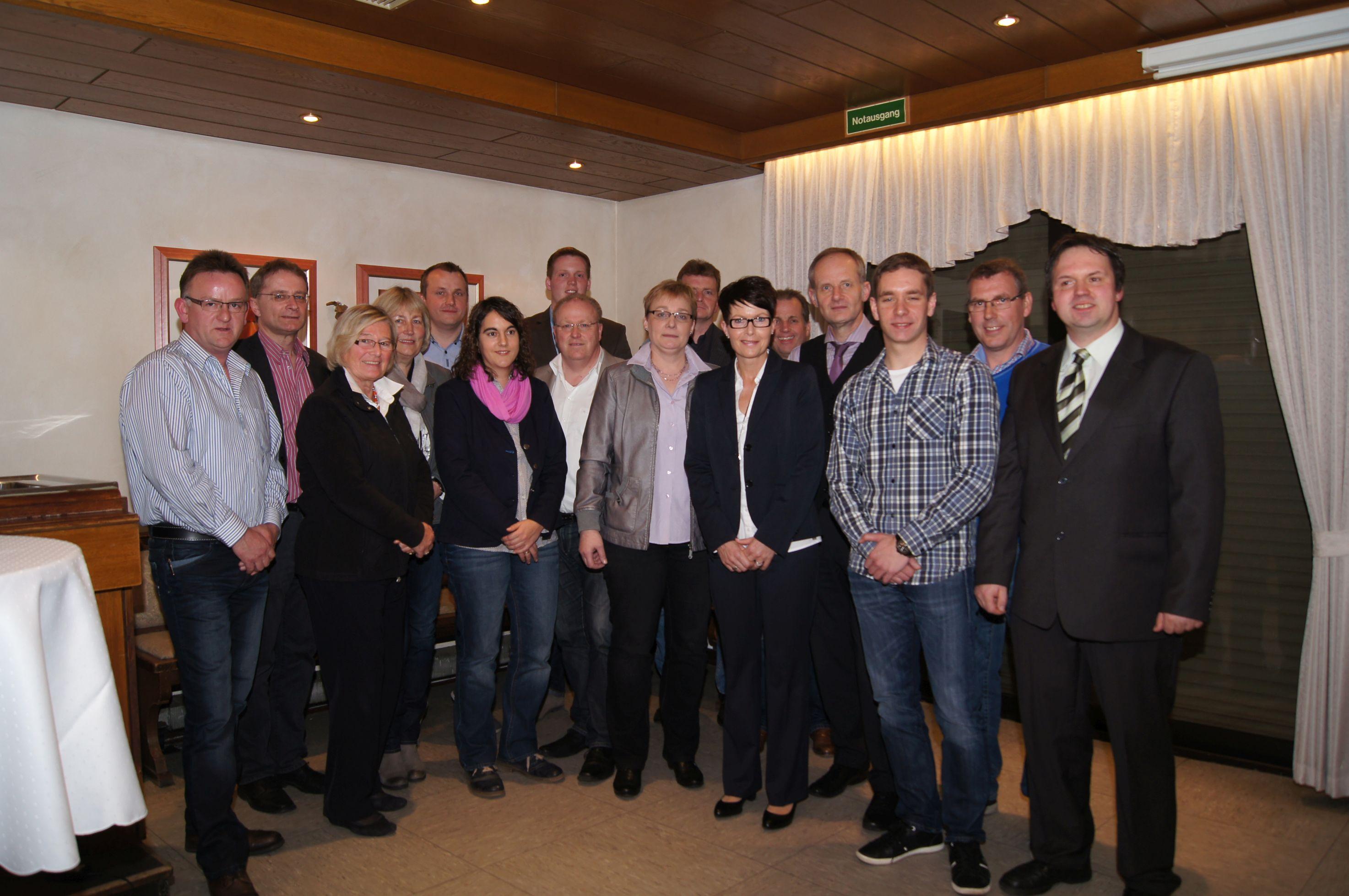 Die Kandidaten für die Wahlkreise 2014